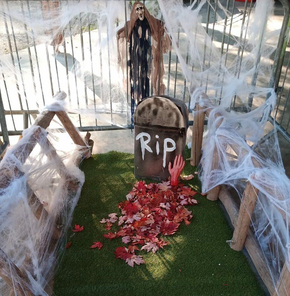 décoration halloween savoie